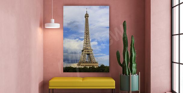 Paris canvastavla till hallen