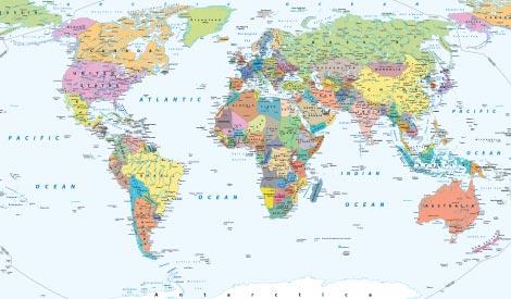 Politisk karta