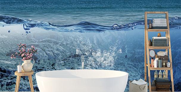Rumslig fototapet: ocean