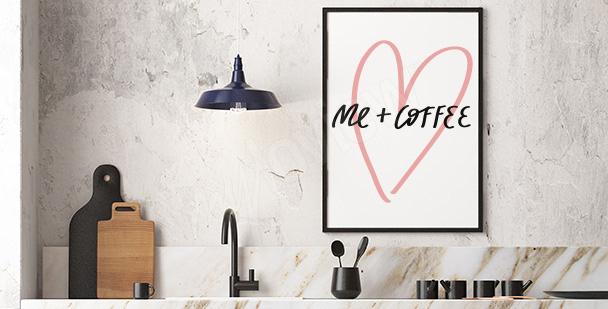 Typografisk affisch minimalism
