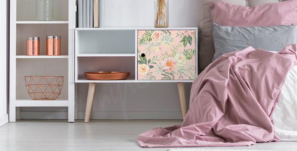 Väggdekor floral stil