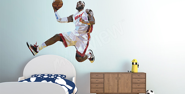 Väggdekor LeBron James
