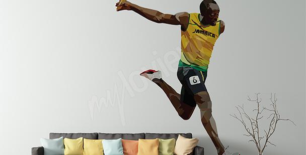 Väggdekor Usain Bolt